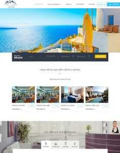 Mẫu website khách sạn với đầy đủ chức năng cần thiết - đơn vị lamkinhdesigner là một đơn vj chuyên thiết kế website khách sạn chuyên nghiệp