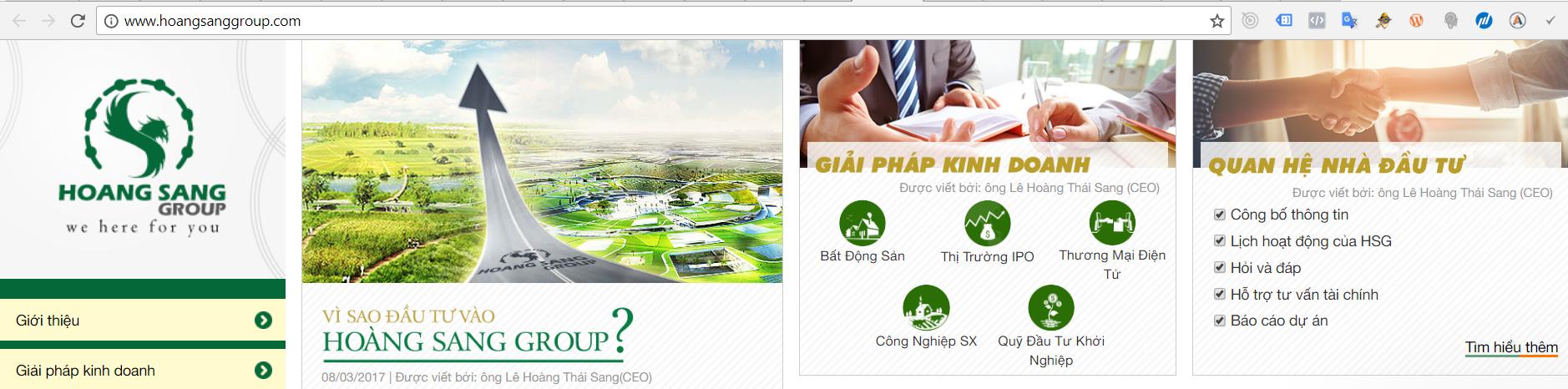 Tập đoàn Hoàng Sang Group